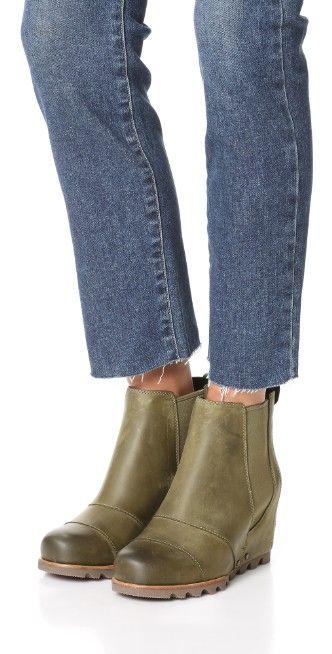 Sorel Lea Wedge Booties | SHOPBOP