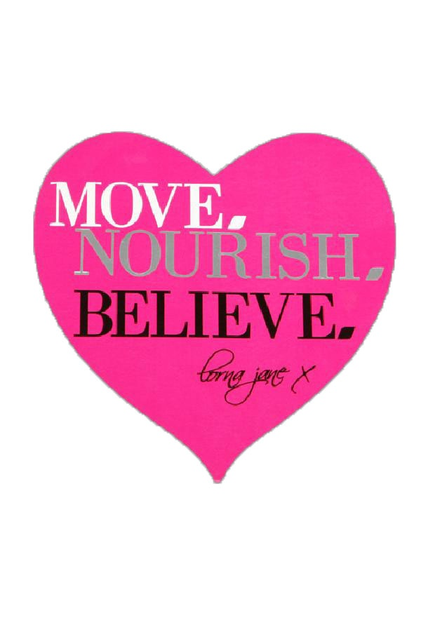 move nourish believe #LYD #Sportsgirl