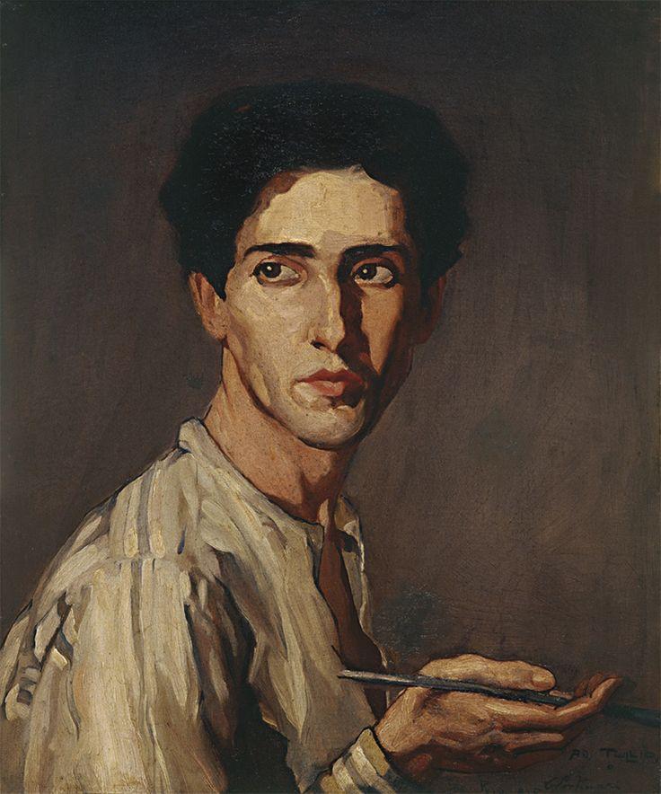 "Fernando Lucio Fellba by Candido Portinari (1903-1962), Brailian painter of the ""Neo-Realism"" style (mediacache)"