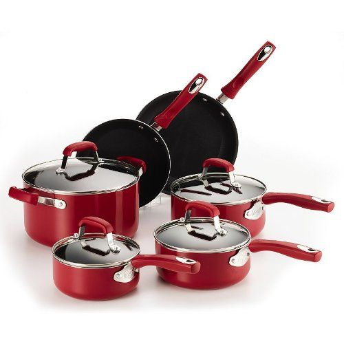 Guy Fieri 10-pc. Nonstick Aluminum Cookware Set -- Be sure to check out this awesome product.