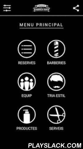 Barcelona Barber Shop  Android App - playslack.com ,  Barbers i estilistes especialitzats que tenen cura del teu look. Sabem el que et quedarà millor, com tallar el teu cabell i arreglar-te la barba. Som molt curosos amb el detall i amb el tracte al client.Oferim talls de cabells exclusivament per a homes. Et tallem el cabell a màquina o a tisora, t'arreglem la barba o t'afaitem a navalla amb un ritual amb tovalloles que et sorprendrà.Ja pots realitzar la teva reserva a través de l'aplicatiu…