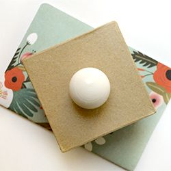 Make an ordinary paper box extraordinary with this simple DIY from Swoom.