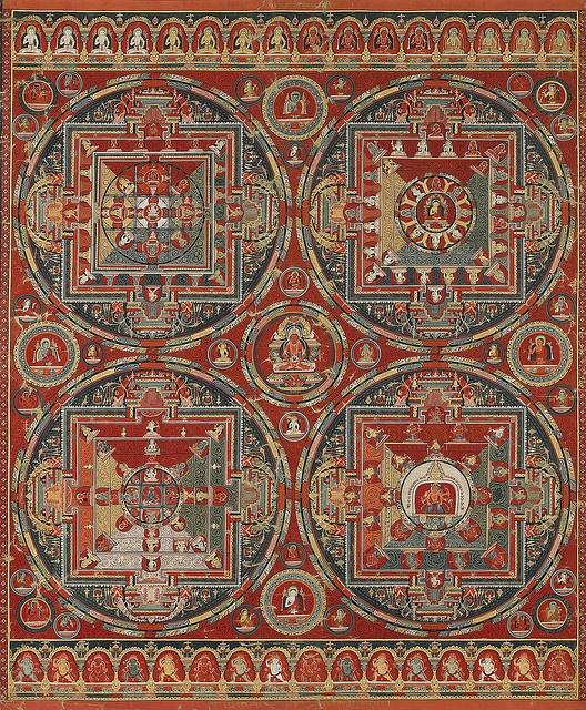 Mandala of Manjushri