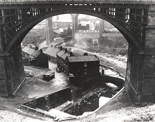 Ouseburn Viaduct Newcastle upon Tyne Unknown 1960 by Newcastle Libraries