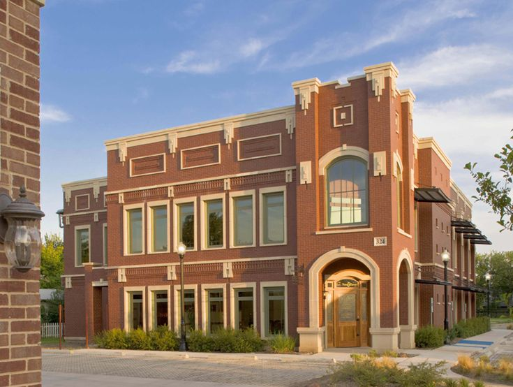 1000 images about modern brick buildings on pinterest for Brick home construction