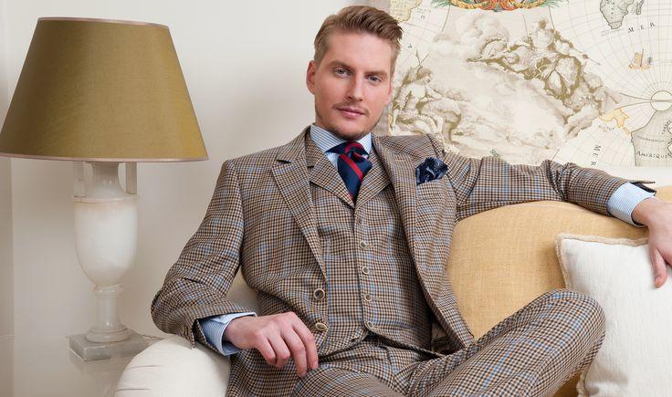 costume anglais lin laine soie tissu pied de poule. Black Bedroom Furniture Sets. Home Design Ideas