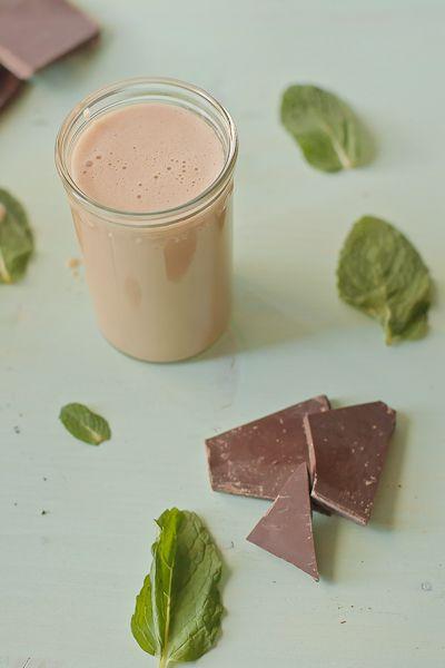 Homemade Mint Chocolate Irish Cream