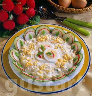 Lajos Mari konyhája - Mimóza tojássaláta, almával #AlmaSzerda