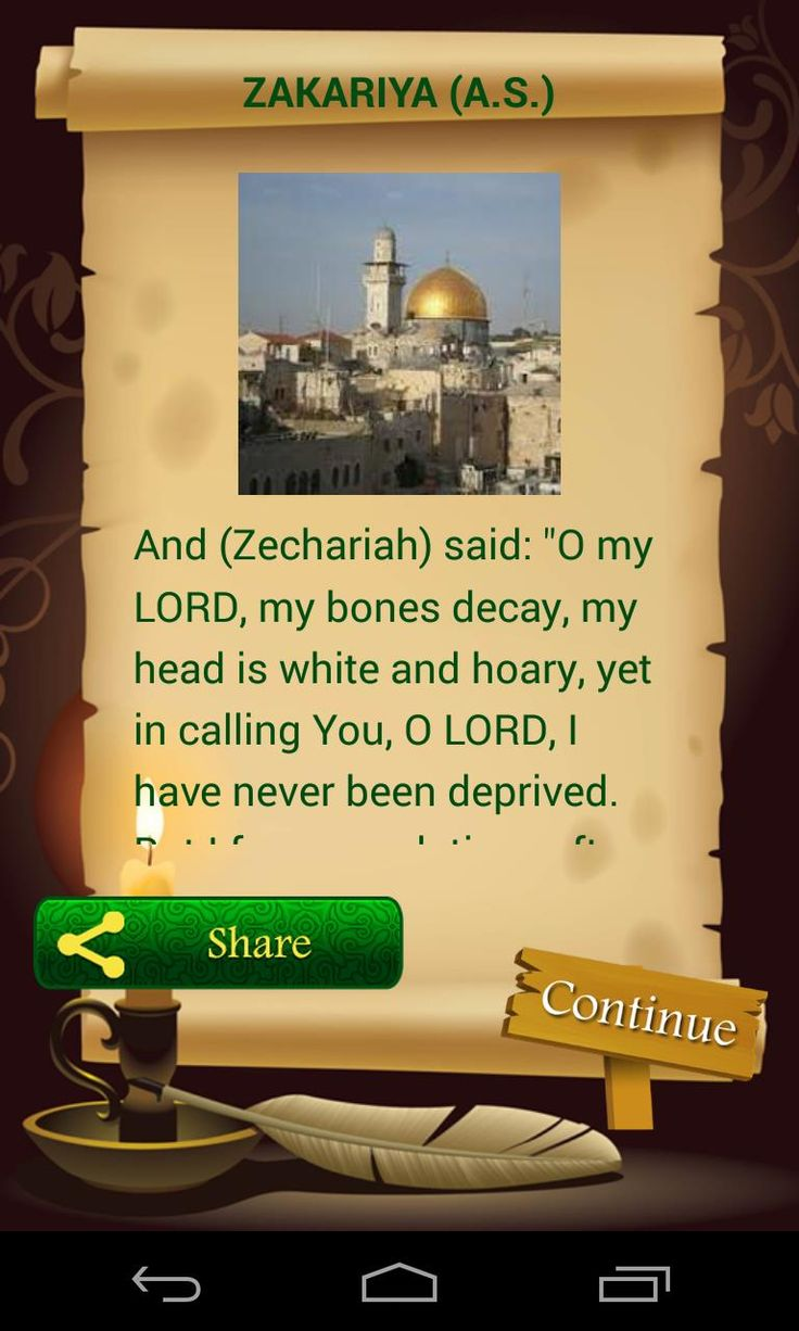 great app...^_^  Guess the prophet...?!