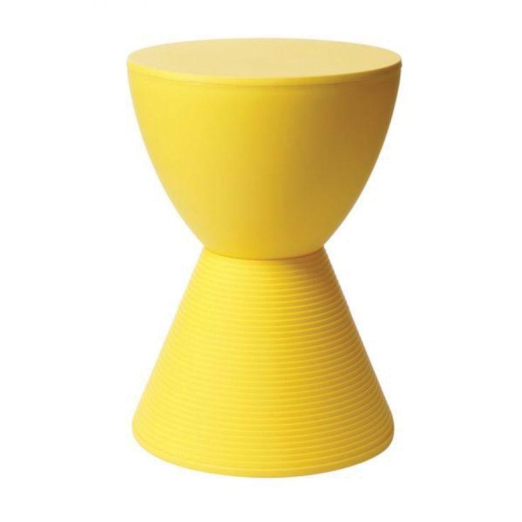 Molde σκαμπώ σε κίτρινο χρώμα