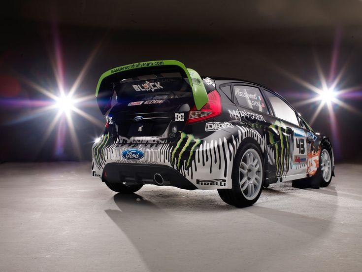 Ken Block's Monster Ford Fiesta