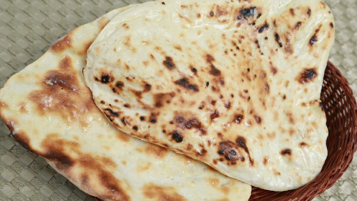 Butter Naan #Indian Flat #Bread #Recipe By Ruchi Bharani