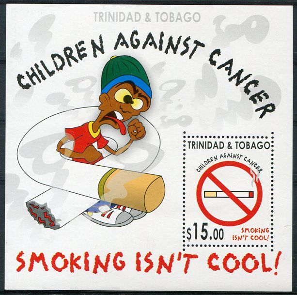 Francobolli - Lotta contro il cancro - Fight against cancer Trinidad Tobago 2005