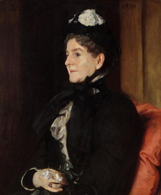 John Singer Sargent (American, 1856-1925) Mrs. Alexander H. Bullock, 1890