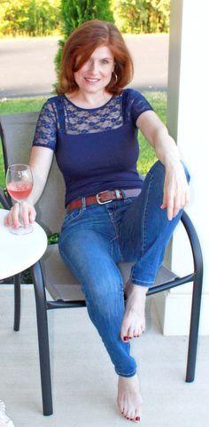 Milf com Jeans Colado