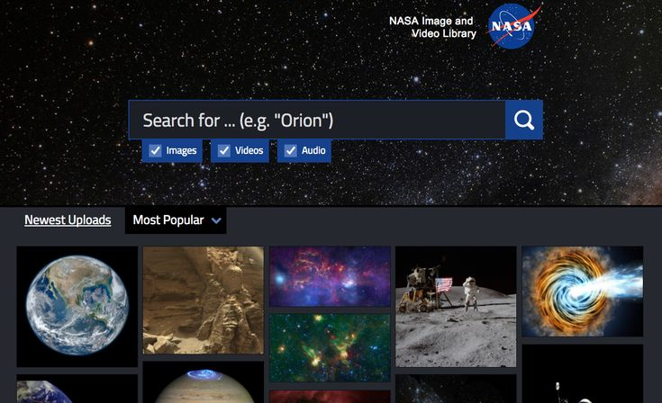 140,000 NASA images, videos and audio files are available on the NASA Image and Video Library.