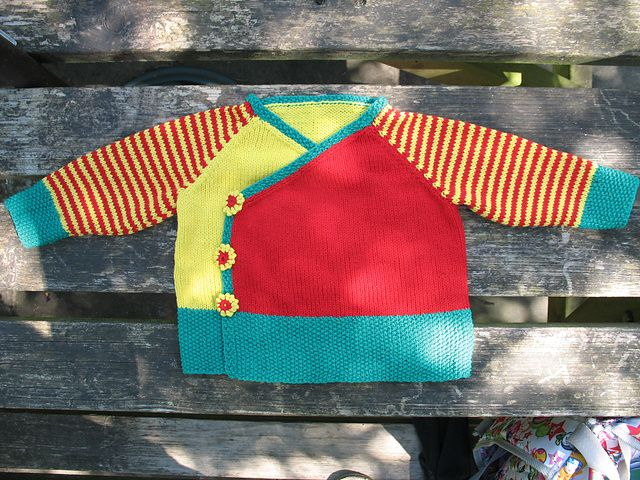 Free Pattern: Oh, baby! Kimono Wrap and Booties