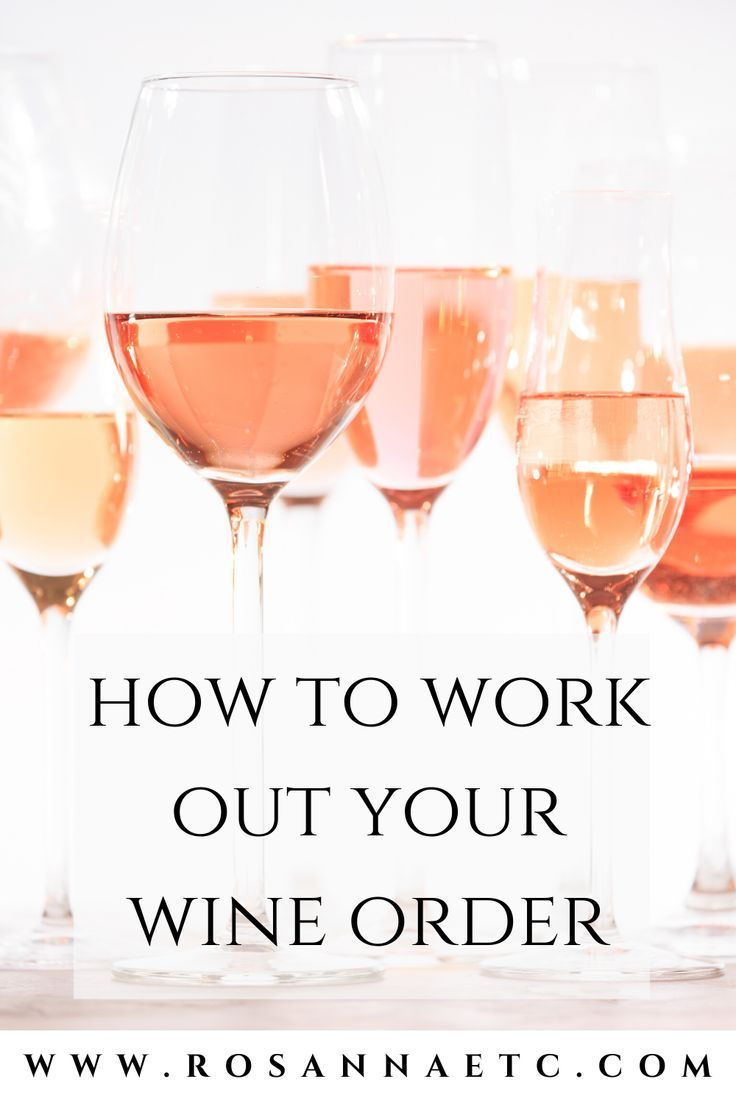 How To Work Out Your Wine Order In 2020 Wine Event Elegant Wedding Reception