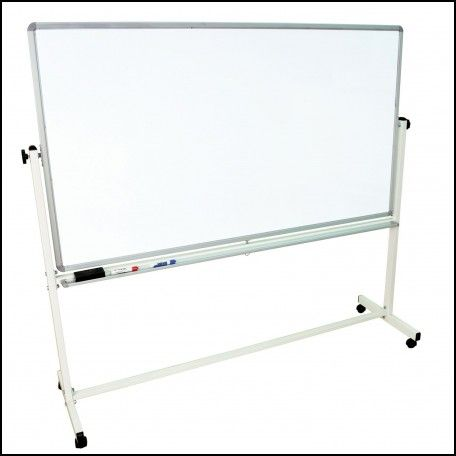 Portable Whiteboard On Wheels