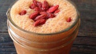 Jahodové smoothie s Goji