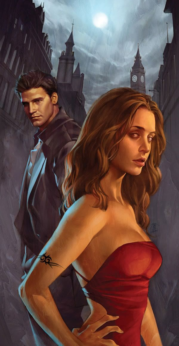 """Angel and Faith, Issue 1: """"Live Through This, Part I"""" Cover by Jo Chen."""