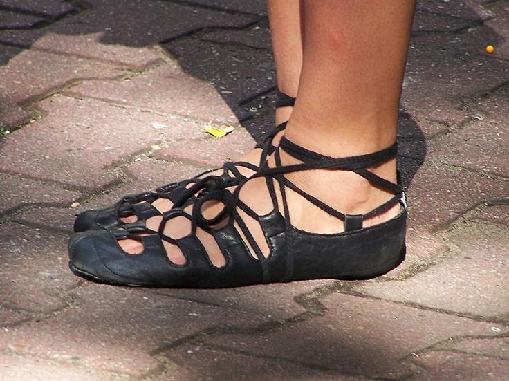 Ghillie - shoes for irish dances.