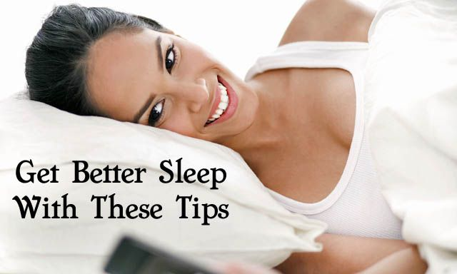 How to get better sleep- try these easy tips