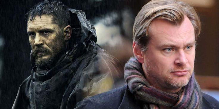 Tom Hardy and Christopher Nolan