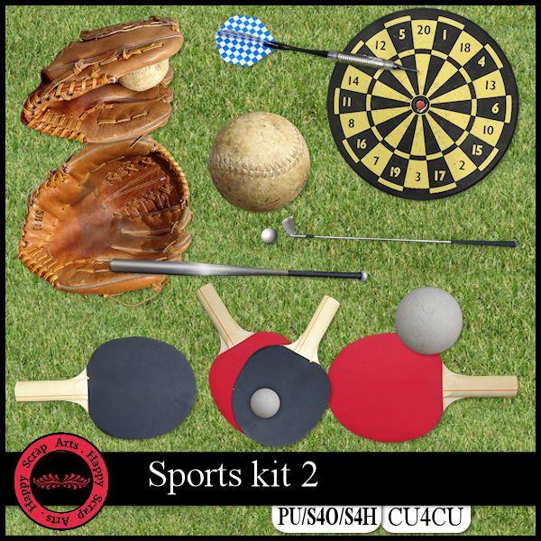EXCLUSIVE Sport kit 2 CU4CU by Happy Scrap Art