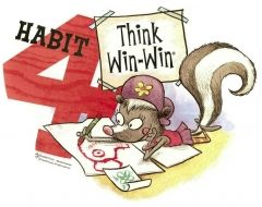 """Habit 4 - Think Win-Win! I've written a blog series based on Stephen R Covey's book """"Living the 7 Habits"""". I'm currently reading this book, again, and I wanted to share each habit and tie in a sneak peak to my experience with each habit. Check out my blogs that allow me to blog from home. You too can learn what I do to earn an income simply by blogging.  http://kimipagco.empowernetwork.com #dreambig #workathomemom #freedomfourfamily"""