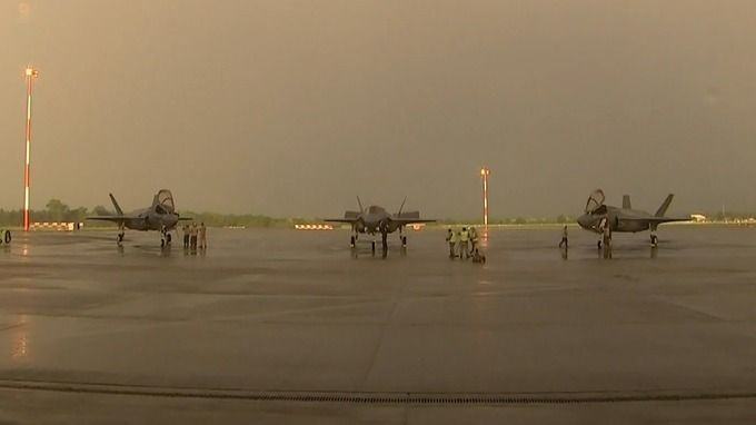 The F35 stealth plane will be based at RAF Marham.