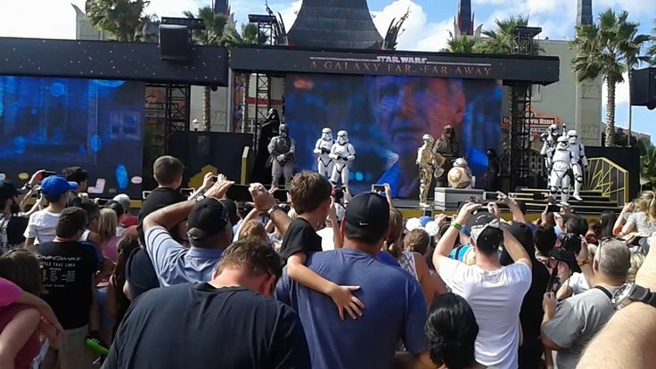 Disney: Star wars performance