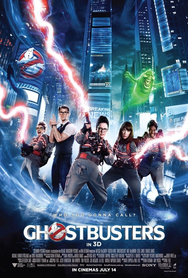 "Ghostbusters (2016) I am in love with these four ladies. Melissa shows great comedic range. I especially enjoyed her dialogue with Kristen. Leslie made me laugh out loud so many times. Kate brought the heat totally, redefining her character ( I secretly want to try her hair.) Chris is brilliant as the secretary. There hasn't been such a clever portrayal of the ""Dumb Blonde"" stereotype since Marilyn Monroe. The cameos from the original cast were great."