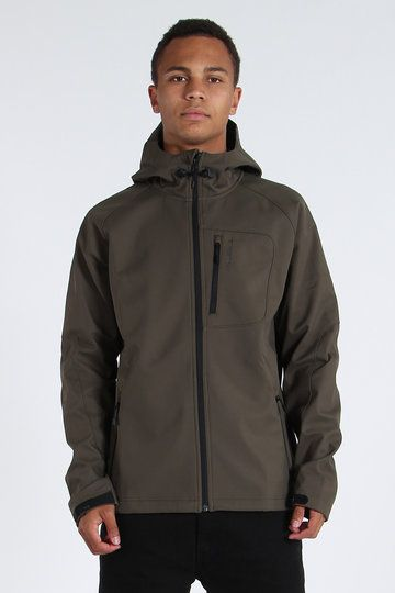 Heading outdoors are we? You crazy bean. Make sure you're protected against all the elements with O'Neill's Exile Softshell Jacket. Boasting a light fit, DWR water repellent coating and an inner storm placket, it'll fend off the winter nasties, while the easy-access audio pocket will ensure you can carry on boppin' to your rad choonz.