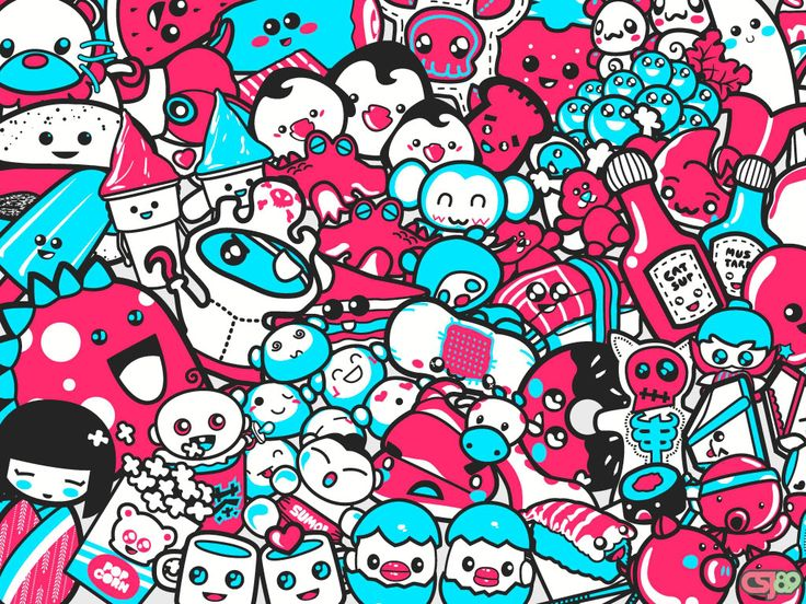 kawaii background
