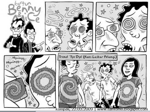 Benny & Mice, Kompas 22 Maret 2009: Trend Tye Dye