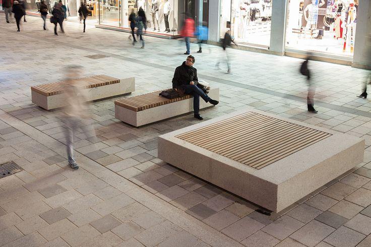 #public #bench / Mariahilferstrasse-by-Bureau_BplusB-05 « Landscape Architecture Works | Landezine