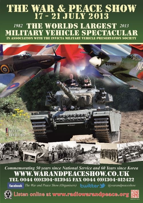 War & Peace Show - The Largest Military Vehicle Spectacular in the World - Home
