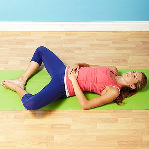 Fertility-Boosting Yoga Poses: Goddess Pose (via Parents.com) This restorative pose opens your hips and pelvis and can help you to relax -- something that's sometimes hard to do when you're trying to make a baby.