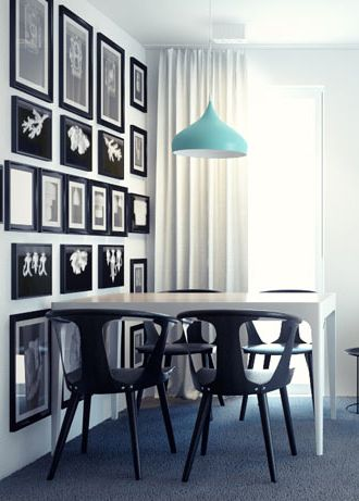 Dining room design in Katowice POLAND - archi group. Jadalnia w mieszkaniu w Katowicach.