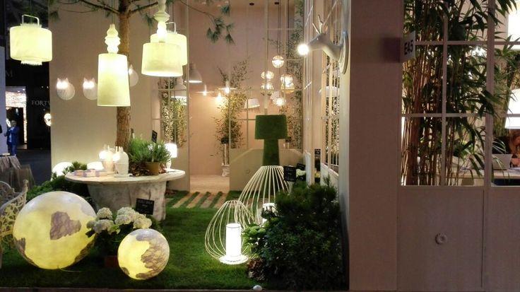 #stand #karman #euroluce2015 #madeinitaly #lightingdesign