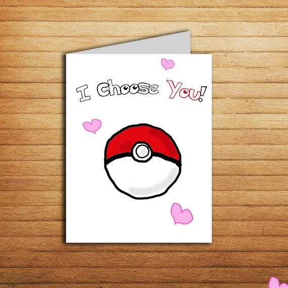 I Choose You Pokemon inspired Card #choose #you #pokemon #inspired #card…