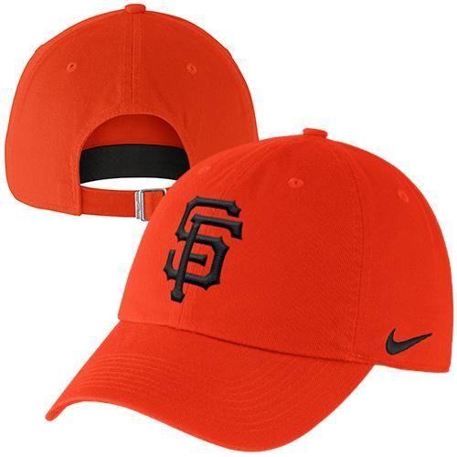 Nike San Francisco Giants Stadium 3.0 Dri-FIT Adjustable Hat - Orange