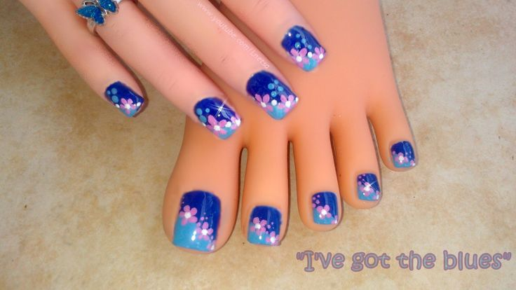Toe Nails Designs 2014 Picture | Nail Arts