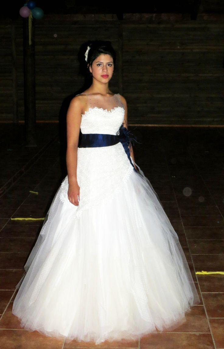 Examen novias... Foto tomada para el desfile a beneficio en San Clemente ... Modelo Ignacia