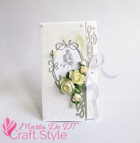 Kopertówka ślubna / An Envelope Wedding Card
