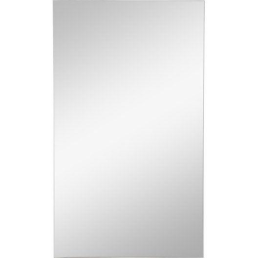 Miroir modulo composer sensea x cm salle - Leroy merlin miroir grossissant ...
