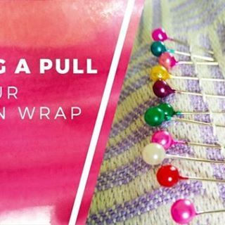 - f i x - a - p u l l -  Cross fingers you don't get any pulls at all, but if you do, it's actually pretty easy to fix them. 👌 If you own a woven wrap, you'll want to check out our quick tutorial! Link in profile. ❤  #babywearing #brookemaree #bliss #blog #article #blogging #Blogger #like #share #link #read #info #infographic #wovenwraps #daiesu #daiesutatami Featuring the lovely @daiesubaby Tatami Lavender!