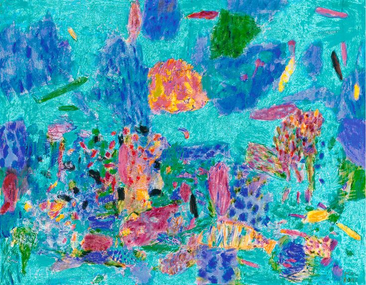 December reef, 2001 Limited Edition Print A beautiful digital reproduction of 'December reef' 2001, printed on 100% cotton rag, acid fre...