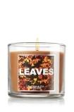 Leaves 4 oz. Small Candle - Slatkin & Co. - Bath & Body Works
